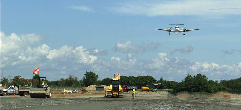 airport runway paving